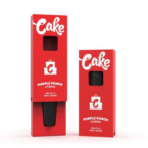 CAKE DELTA 8 RECHARGEABLE DISPOSABLE DEVICE (940MG)