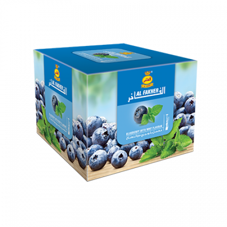 AL-FAKHER SHISHA 250GM- BLUEBERRY WITH M...
