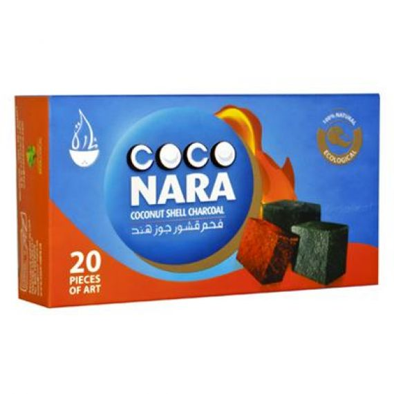 COCONARA CHARCOAL- 20 PIECES