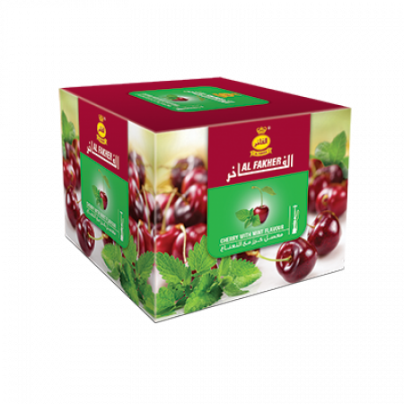 AL-FAKHER SHISHA 250GM- CHERRY WITH MINT
