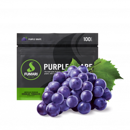 FUMARI SHISHA-100GM PURPLE GRAPE