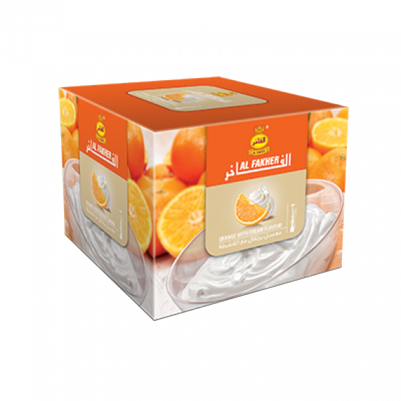 AL-FAKHER SHISHA 250GM- ORANGE WITH CREAM