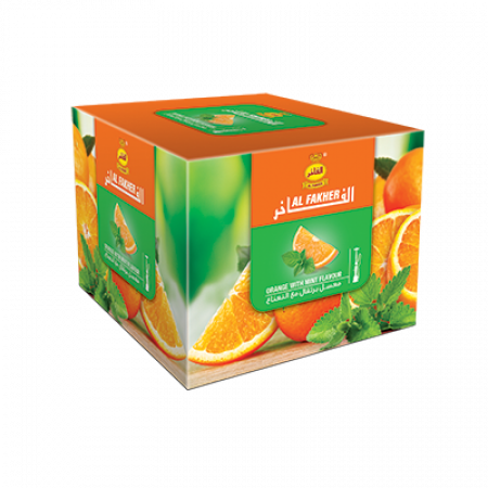 AL-FAKHER SHISHA  250GM- ORANGE WITH MIN...
