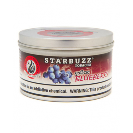 STARBUZZ SHISHA-100GM BLUEBERRY