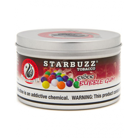 STARBUZZ SHISHA-100GM BUBBLE GUM