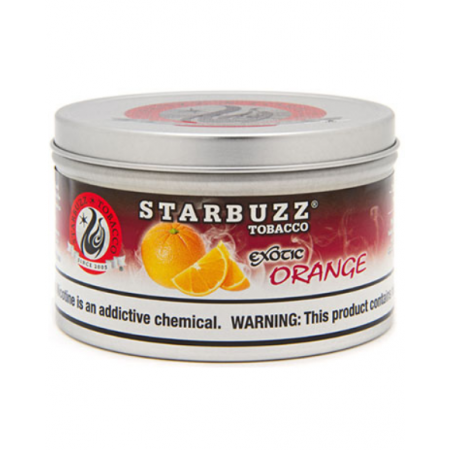 STARBUZZ SHISHA-100GM ORANGE