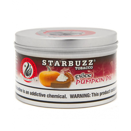 STARBUZZ SHISHA-100GM PUMPKIN PIE
