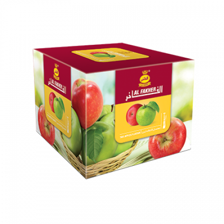 AL-FAKHER SHISHA 250GM- DOUBLE APPLE