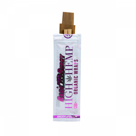 HIGH HEMP ORGANIC WRAPS BARE BERRY