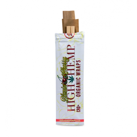 HIGH HEMP ORGANIC WRAPS BLAZIN CHERRY