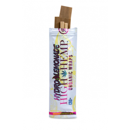 HIGH HEMP ORGANIC WRAPS HYDROLEMONADE