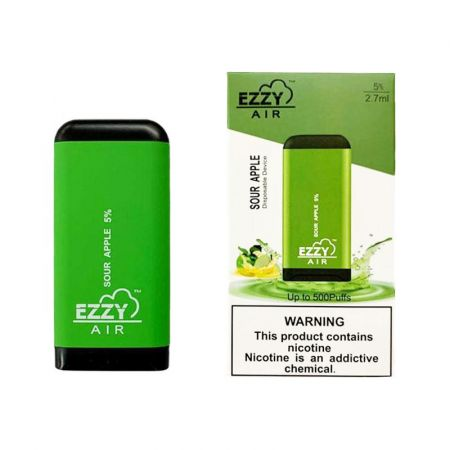EZZY AIR 5% MG - SOUR APPLE