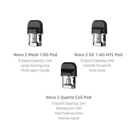 SMOK NOVO 2 - REPLACEMENT CARTRIDGE