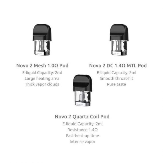 SMOK NOVO 2 - REOLACEMENT CARTRIDGE
