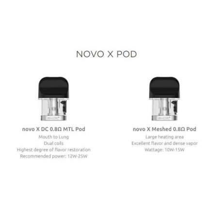 SMOK NOVO X- REPLACEMENT CARTRIDGES